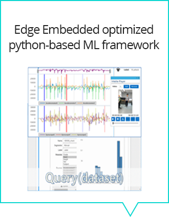 Edge Embedded optimized python-based ML framework